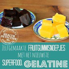 Info over gelatine Healthy Options, Healthy Recipes, Paleo Dessert, Convenience Food, Eating Habits, Paleo Diet, Superfoods, Food Videos, Kids Meals