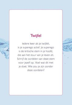 Puur hooggevoelig kaartenbox - Semmie Sprekend Spel Dutch Words, Words Quotes, Sayings, Broken Quotes, Self Motivation, Highly Sensitive, Psychology Facts, Coaching, True Words
