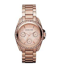 Michael Kors Blair Rose Goldtone Ladies Watch   Dillards.com