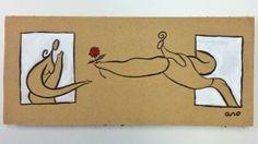 """""""Ventanas"""" """"En la luna"""" Campaña #sanvalentin postales personalizadas de #aroideas http://www.aroideas.com/postales/"""