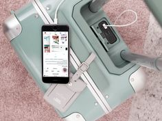 Arlo Skye x Sight Unseen Luggage Is a Jettsetter's Dream - Design Milk