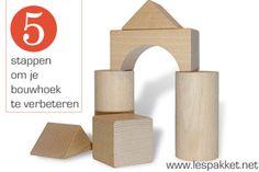 5 stappen om je bouwhoek te verbeteren - Lespakket