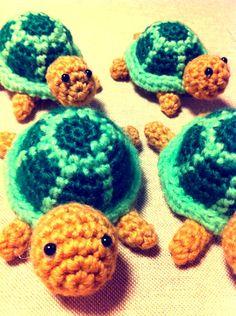 pattern AMIGURUMI TURTLES