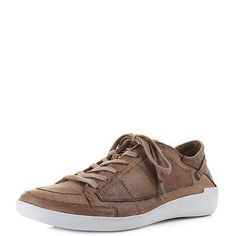 Mens Fly London Tobi 236 Brown Leather Casual Lace Up Shoes Uk Size