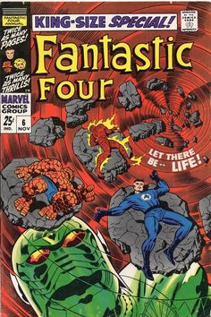 The Fantastic Four Annual #6. Kirby's swan song for the FF annuals.