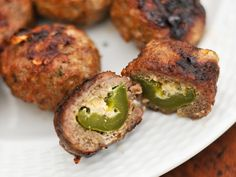 Armadillo Eggs- Cheese Stuffed Sausage Wrapped, Grilled Jalapenos