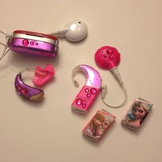 Mommy's Nap Time: Pimp My Hearing Aid / Cochlear Implant - another type of crafting.