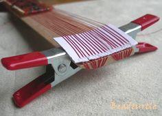 DIY bead loom photo tutorial