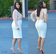 Kim Kardashian pregnant. I didnt know her butt could get any bigger! Yikes