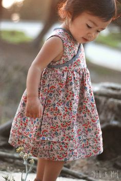 Clothesline Floral Wrap Dress by you & mie