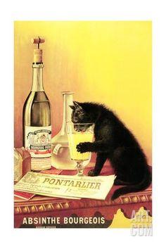 Absinthe Bourgeois Giclee Print at Art.com