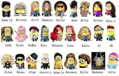 Celebrities!  Some of these I have no idea who the r