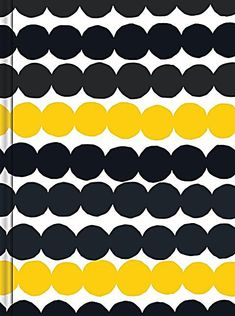 This petite fabric-wrapped journal pops with one of Marimekko's most eye-catching designs-slip it in a bag, tuck it in a pocket, or proudly display it as a chic desktop accessory. Marimekko, Textile Patterns, Floral Patterns, Haida Art, Shops, African Textiles, Japanese Patterns, Illuminated Letters, Desktop Accessories