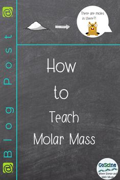 When you teach molar mass, do you just throw up example problems? There isn't a right way to teach students how to calculate molar mass, but. High School Chemistry, Teaching Chemistry, School Lessons, Lessons For Kids, Molar Mass, Emergency Sub Plans, Chemistry Worksheets, Physical Science, Teaching Resources