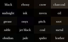 Oh, by the way...: A Color Thesaurus