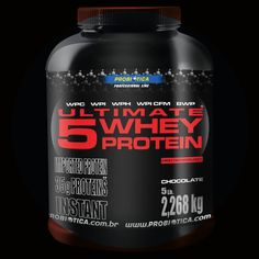 Vocês perguntaram e nós respondemos. Por quê 5? Porque é elaborado com 5 diferentes tipos de proteína, de alta Concentração e absorção para construção e reparação do tecido muscular após os treinos. ;)  #ConanNutrition #Ultimate5WheyProtein