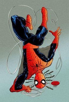 spiderman by john byrne by namorsubmariner on deviantART