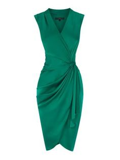 Coast Lavinia dress Emerald Green - House of Fraser