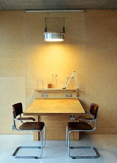 Table And Chairs, A Table, House Design, Architecture, Building, Interior, Wall, Furniture, Home Decor