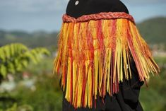 Flax Weaving - Kahu pokowhiwhi shoulder cloak