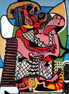 The Kiss (1925) by Pablo Picasso
