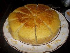 Pastel con harina para hotcakes.
