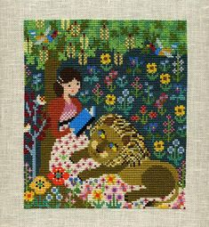 Jane Austen Pride and prejudice cross stitch pattern by Gera #crossstitch