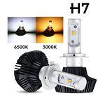 H7 Cree LED Headlights Conversion Kit Bulbs 980W 147000LM Bulbs 3000K/6500K 2Pcs
