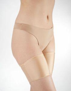 Oberschenkelschoner gegen Reibung, ideal für den Sommer, für Röcke und Kleider / thigh shaper against friction made by flirtyna via DaWanda.com