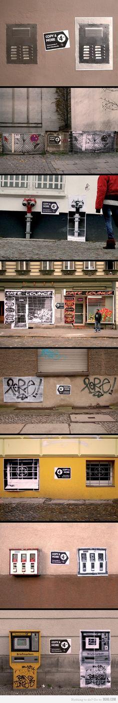 graphic design, copi shop, shops, street art, ambient idea, street market