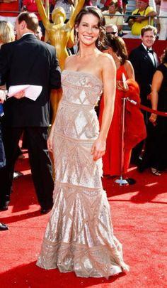 Evangeline Lily vestindo Elie Saab, Emmy Awards 2008