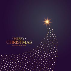 Purple luxury background with a christmas tree Vector Gratis