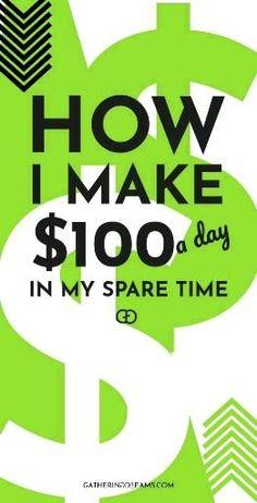 Earn Money From Home, Make Money Fast, Earn Money Online Fast, Fast Cash, Extra Cash, Extra Money, Money Tips, Money Saving Tips, Cash Money
