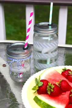 DIY Mason Jar Travel Cups - Alyssa and Carla