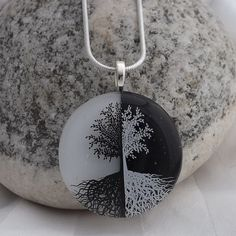 Yin Yang Tree Meaning ying-yang tree of life pendant creations by ...