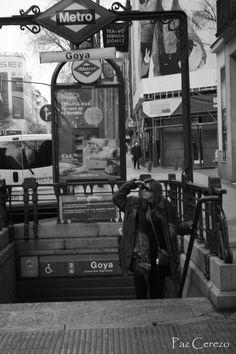 El metro en la calle Goya