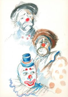 Remember the Clowns    Artist:    Mary Armstrong