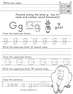 math worksheet : 1000 images about letter g on pinterest  letter g gumball and  : Letter G Worksheets For Kindergarten