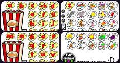 Aprendemos el abecedario con este manipulativo juego de palomitas súper divertido