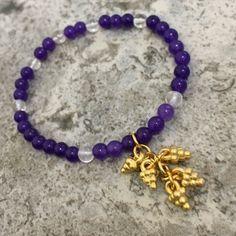 A personal favourite from my Etsy shop https://www.etsy.com/uk/listing/452897826/grape-purple-quartzite-clear-quartz    #jewellery #EtsyUk #Gemstone #hippie #shoplocal #crystalhealing #chakra #etsyfinds #gifts #shopsmall #purple #grape
