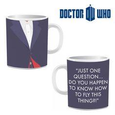 Mug 12ème Dr Who, Cadeau Geek Docteur Who sur Logeekdesign