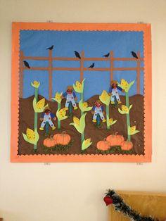 Fall Pumpkin Patch Bulletin Board