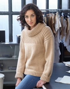 Book Woman Basics 10 Autumn / Winter | 26: Woman Sweater | Beige