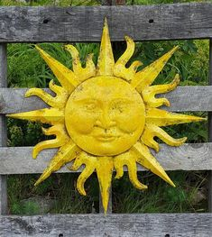 This Garden Decor Metal Sun Wall Art Outdoor Wall Art Metal Sun is just one of the custom, handmade pieces you'll find in our outdoor & gardening shops. Metal Sun Wall Art, Outdoor Metal Wall Art, Outdoor Walls, Metal Art, Sun Wall Decor, Mermaid Wall Decor, Good Day Sunshine, Garden Wall Art, Sun Art