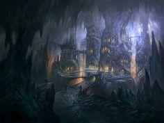 Runemaster Svartalfheim concept art