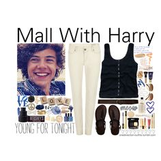 Mall With Harry - #026 by onedirection-outfits on Polyvore featuring art, imagines, harry styles, hollister, 1d outfits, 1, one direction, one, outfits and 1d imagine