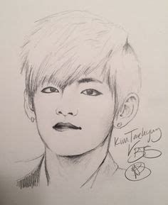 V BTS Drawings images, similar and related articles aggregated throughout the Internet. Pencil Sketches Easy, Pencil Drawings Of Girls, Girl Drawing Sketches, Kpop Drawings, Girly Drawings, Anime Girl Drawings, Art Drawings Sketches Simple, Horse Drawings, Drawing Art
