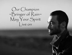 Andy Whitfield..... Spartacus. I so miss him!!