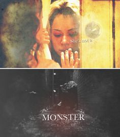 """""""She's not a MONSTER."""" #orphanblack"""