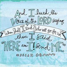 REDE MISSIONÁRIA: WHOM SHALL I SEND? (ISAIAH 6:8)